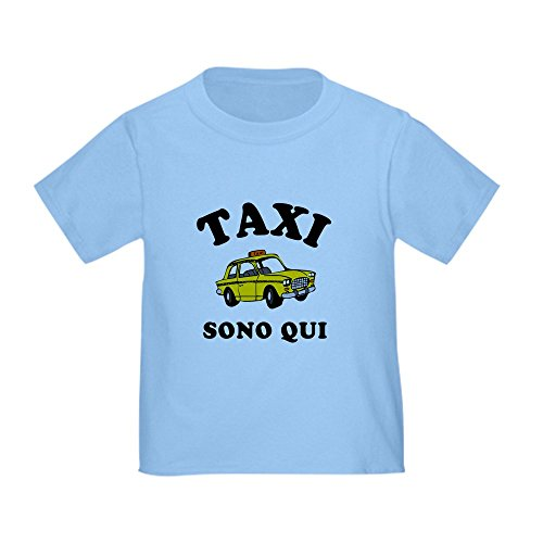 CafePress - Taxi Sono Qui Toddler T-Shirt - Cute Toddler T-Shirt, 100% - And D Pauly Snooki