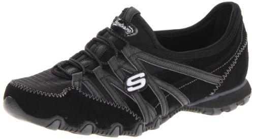 Skechers Sport Women's Verified Fashion Sneaker,Black/Charcoal,10 M US