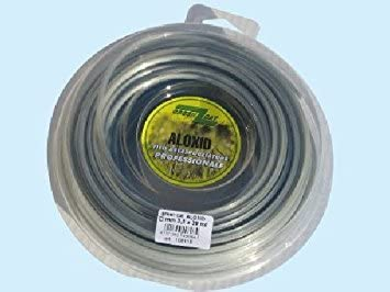 Hilo para desbrozadora profesional Aloxid, 4 mm x 30 m: Amazon.es ...