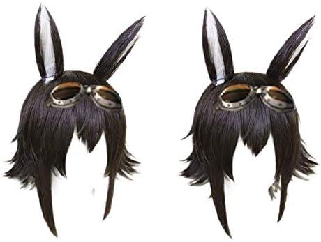 【ラベンダー】 クーリエ Courier コスプレ道具 ウィッグと耳