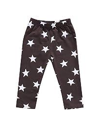 Toddler Infant Baby Girl Boy Stars Harem Pants Long Trousers Bottoms Leggings