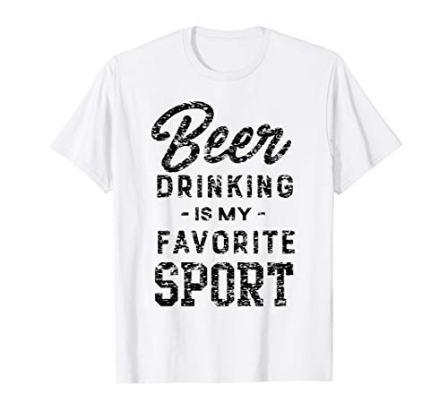 Beer drinking sport t-shirt