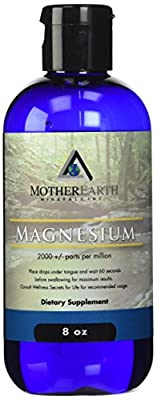 Mother Earth Minerals - Magnesium - Aids In Relaxing Nerves, Regularity, Restful Sleep, Keeps Vertebrae In Proper Position, Relieving Daily Tension