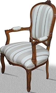Chaise baroque Louis XV rocaille de style antique AlCh0307DklHzSiFl