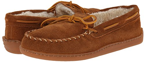 Minnetonka Men's 3902, Brown Suede, 10 D-Medium