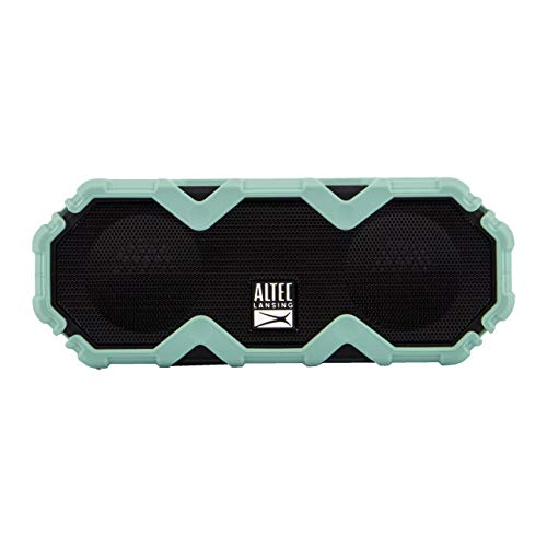 Altec Lansing IMW479 Mini LifeJacket Jolt Heavy Duty Rugged and Waterproof Ultra Portable Bluetooth Speaker with up to 16 Hours of Battery Life, 100FT Wireless Range and Voice Assistant (MTG)