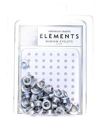 Medium Eyelet Assortment (Medium Eyelet Assortment 48/Pkg,)