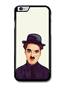 """AMAF ? Accessories Charlie Chaplin Illustration case for iPhone 6 Plus (5.5"""")"""