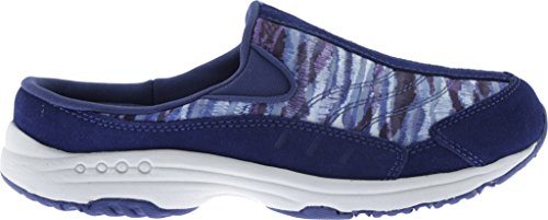 Multi Purple Easy Spirit Women's Traveltime Mule Suede Navy WrqYgqXwB