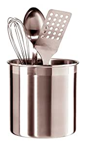 Oggi 7211 Jumbo Stainless Steel Utensil Holder