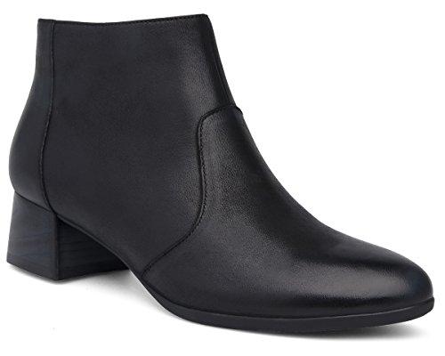 Women's Petra Nubuck Dansko Boot Black Burnished zFFwHq