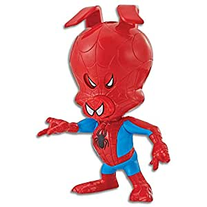 """Marvel Spiderman - 8.5"""" Spider Ham Spin Vision Action Figure - Into The Spider-Verse - Kids Toys - Ages 4+"""