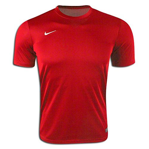 (Nike Soccer Uniform Jersey: Nike Tiempo II Replica Soccer Jersey Red YXL)