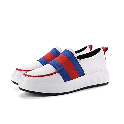 PU Comfort Sneakers rosso Tacco donna da poliuretano piatto Scarpe nero Fall ZHZNVX Black Oq0Itt