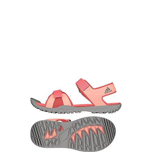 Adidas Enfants En Plein Air Sandplay Od Chaussure Facile Bleu / Gris Moyen / Tactile Rose