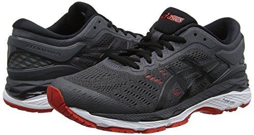 Running fiery De Chaussures 24 Gel black Red 9590 Grey Homme kayano Gris dark Asics XT6UxX