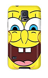 AnnDavidson Galaxy S5 Hybrid Tpu Case Cover Silicon Bumper Spongebob For Laptop