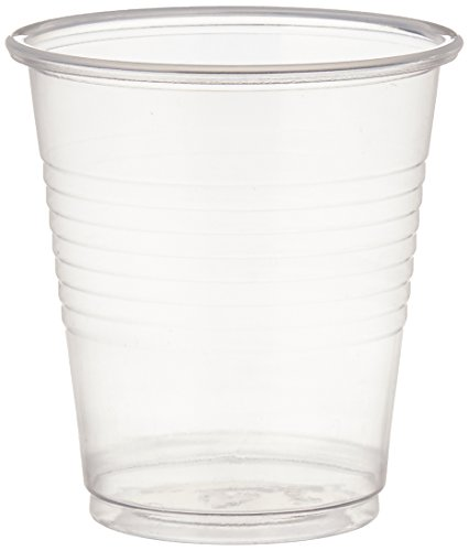 Dynarex Disposable 3 oz.Plastic Drinking Cups, 100 Per Package…