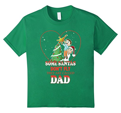 Kids Christmas Shirt For Father. Gift Idea From Son. 8 Kelly Green - Father Son Costumes Ideas