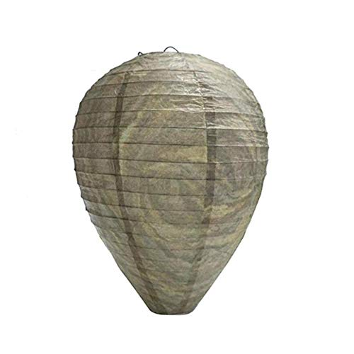 Sanmubo 2pcs Beehive Lantern Paper Wasp Repellent Lantern Wasp Guide Lantern Paper Lantern Lamps Decorative Chinese Hanging Decorations for Classroom Ceiling Decoration