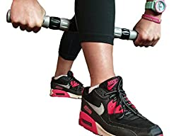 Elite Sportz Massage Roller Stick Targets Sore, Tight Leg Muscles to Prevent Cramps and Release Tension. It\'s Sturdy, Lightweight, Smooth Rolling and Thankfully this Lifesaver has Comfortable Handles