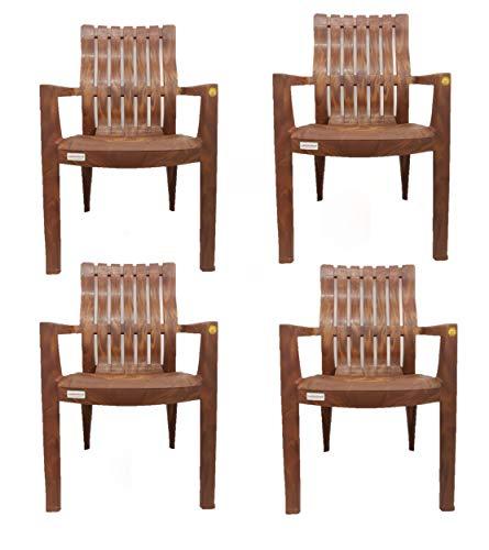 Varmora Chair (Plastic , Walnut)