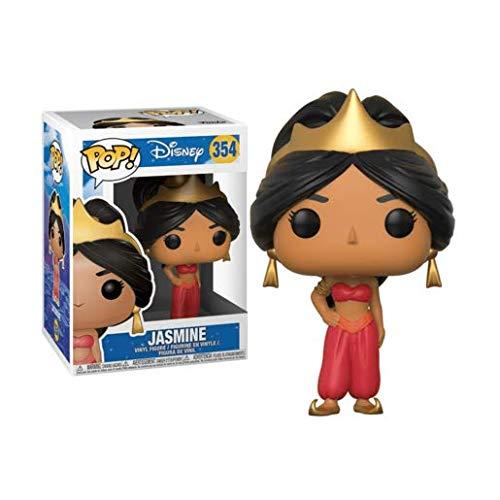 Funko Pop Red Glitter Disney Aladdin Jasmine #354