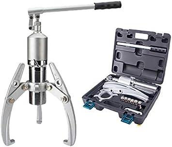 Huanyu - Extractor de rodamientos hidráulicos de 3 mandíbulas 5T-50T: Amazon.es: Bricolaje y herramientas