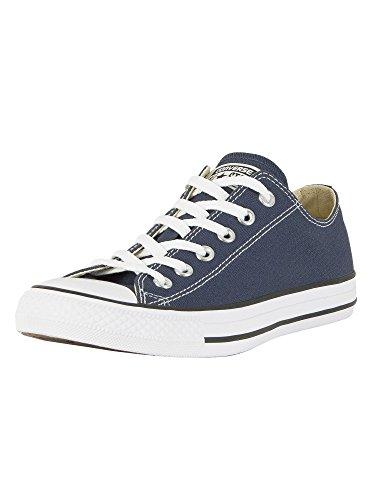 Converse Unisex Chuck Taylor All Star Low Top Navy Sneakers - Men's 11, Women's 13 Medium