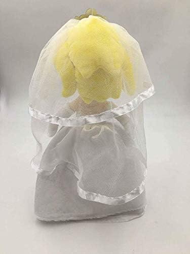 Cxjff Sushi Pusheen Quallenkrake 3X Super Mario Odyssey König Bowser Prinzessin Peach Mario Wedding Dress Plüschtier Stofftier