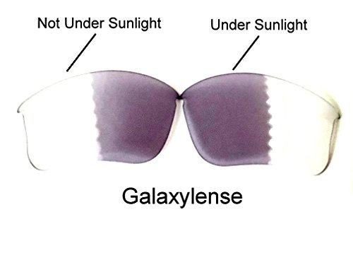 Transitions Flak Jacket (Galaxy Replacement Lenses for Oakley Flak Jacket XLJ Photochromic Transition ,)
