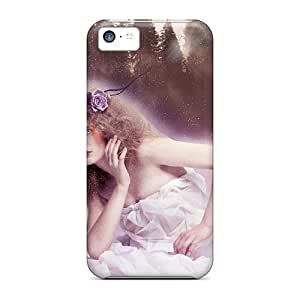 Excellent Design Snow Heaven Case Cover For Iphone 5c