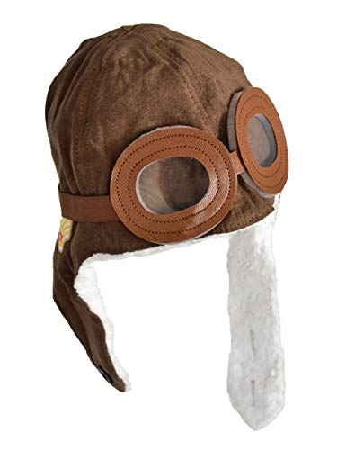 HUIANER Soft Warm Winter Hat for Baby Kid Boys Girls, Theme Party, Photography Props (Brown) -