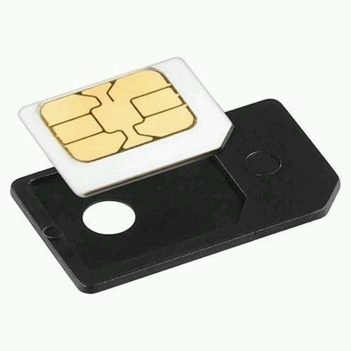 Amazon.com: Micro SIM adaptador de tarjeta, color negro: DTP ...