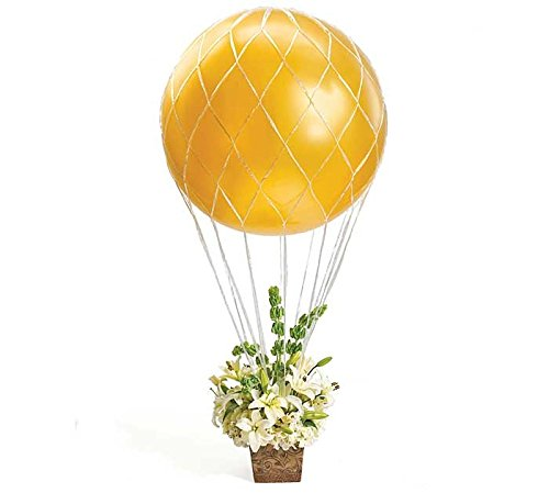 Hot Air Balloon Net (Hot Air Balloon Arrangement Net 3' Large Party Bouquet Centerpiece)