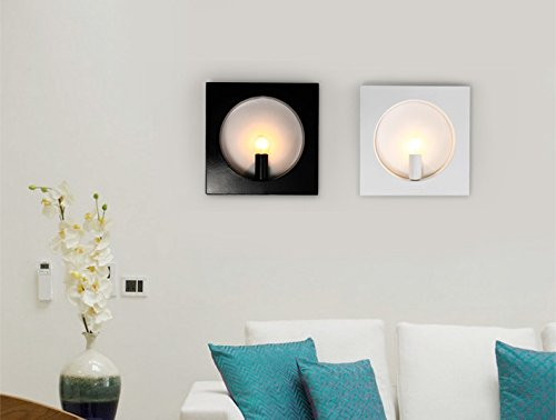 Lampada a muro parete creativi moderni minimalista lampade in ferro