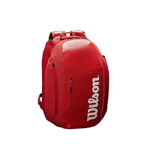 (Wilson Super Tour Backpack - Red/White)