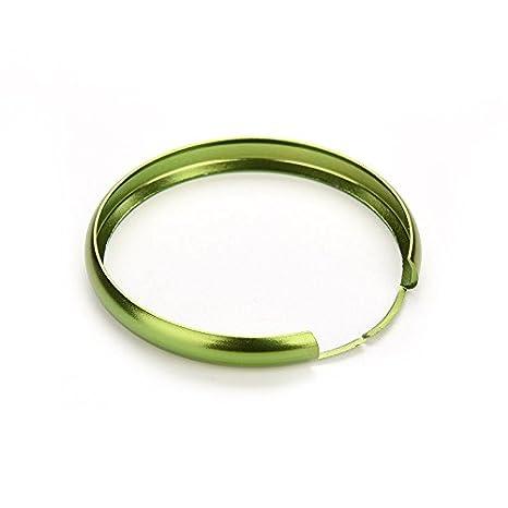 personalizedco Anillo protector colorido llavero de metal llavero Mini Cooper Llave Inteligente,verde: Amazon.es: Coche y moto