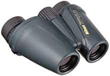 Nikon Travelite EX - Prismáticos (10x, 25 mm, Impermeables, Lentes asféricas), Color Negro