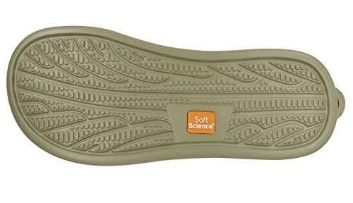 Softscience Mjuk Science Unisex Jollen 2,0 Canvas Flip Flops Khaki