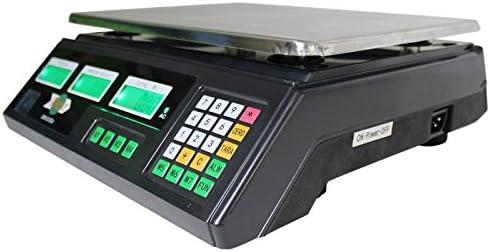 Báscula Digital Windur Basic M468 (capacidad max. 30Kg + panel posterior retroiluminado p/ clientes)