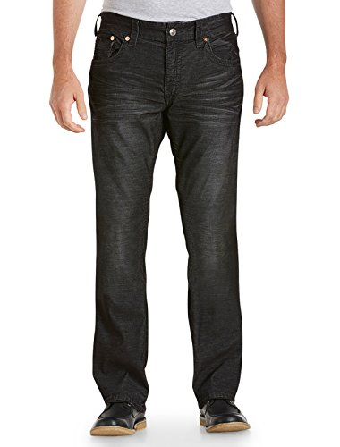 True Religion Big & Tall Bobby Straight Fine - Wale Cordu...