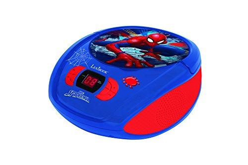 LEXiBOOK Spider-Man Boombox Radio CD Player by LEXiBOOK (Image #1)
