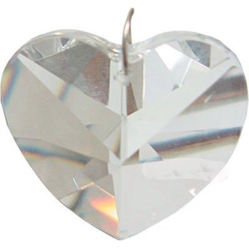 - NewAge Products Inc. Prism Crystal 40 mm Heart CL (each)