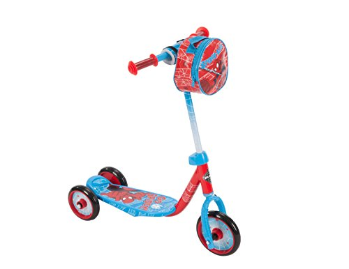 Huffy Bicycle Company Spiderman Preschool Scooter