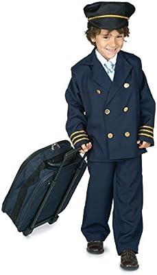 Disfraz DE PILOTO Avion 3 - 4 AÑOS: Amazon.es: Juguetes y juegos