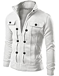 Amazon.com: White - Lightweight Jackets / Jackets & Coats ...