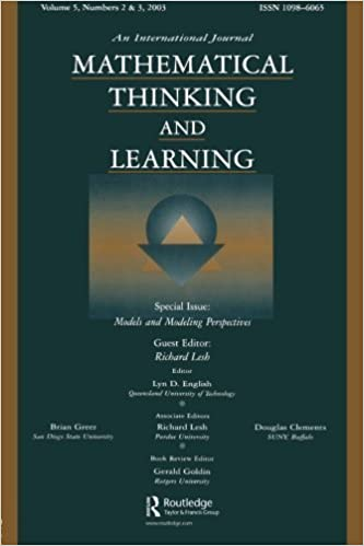 Mathematical Thinking and Learning: Volume 5 (Mathematical Thinking and Learning)