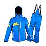 DIMPLEYA-Tuta-da-Neve-per-lUomo-2-Pezzi-Inverno-Caldi-Allaperto-Montagna-Impermeabile-Antivento-Sci-Snowboard-Giacche-con-Snow-Ski-I-Pantaloni-della