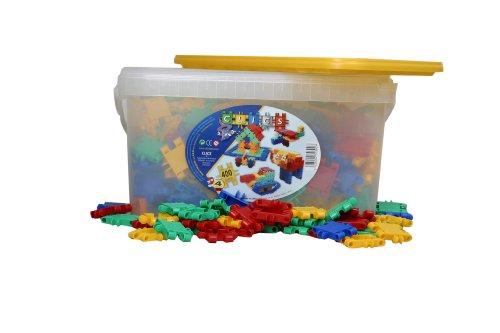 Clics Bucket 400 Pieces, Baby & Kids Zone